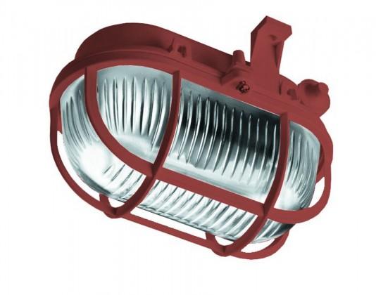 Oval - Stropní svítidlo, E27, 60W (hnědá)