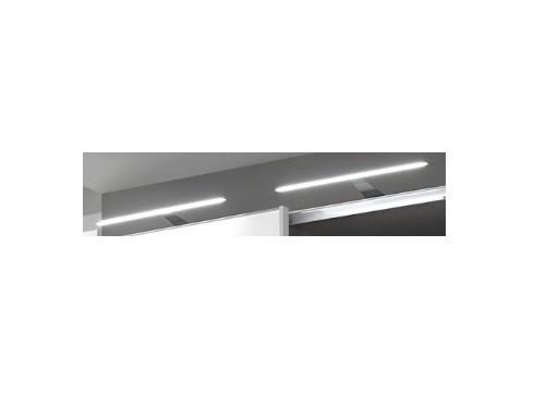 Padua - Tyčové LED svítidlo, 2ks (stříbrná)