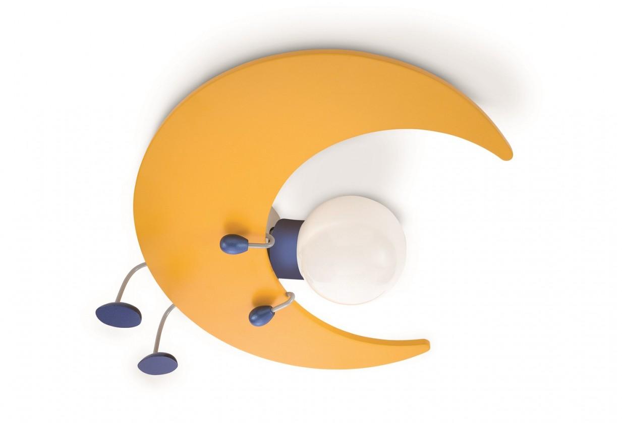 Palermo - Nástěnné osvětlení E 27, 32cm (žlutá)