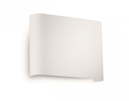 Palermo - Nástěnné osvětlení LED, 13,3cm (bíla)
