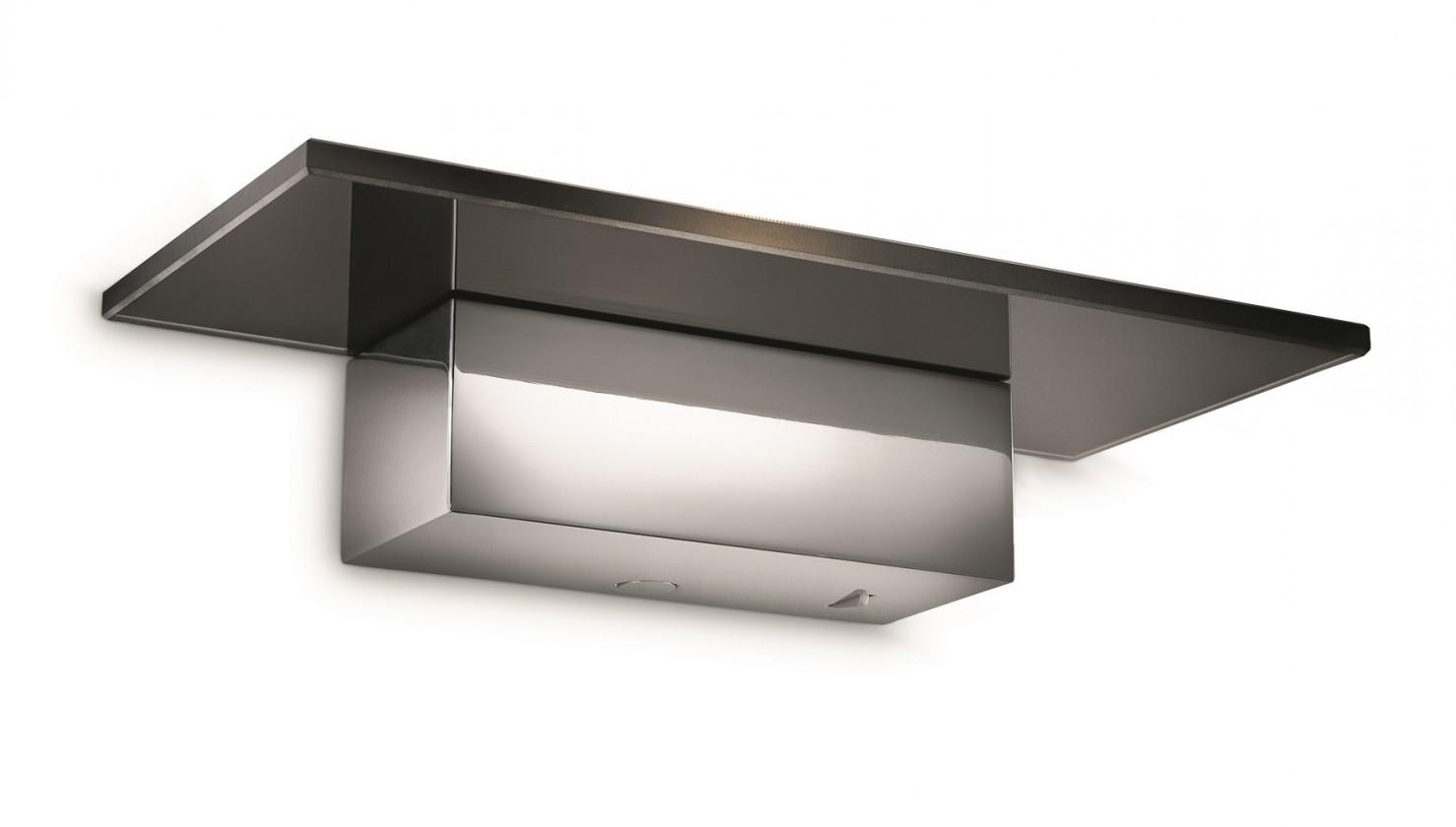 Palermo - Nástěnné osvětlení LED, 27cm (lesklý chrom)