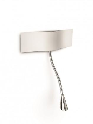 Palermo - Nástěnné osvětlení LED, 28,8cm (bíla)