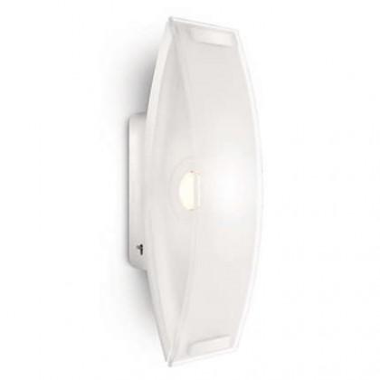 Palermo - Nástěnné osvětlení LED, 9,2cm (bíla)