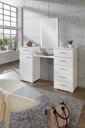 Pamela - Toaletní stolek (alpská bílá)