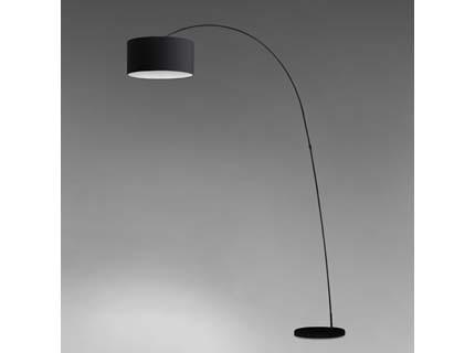 Papua - Podlahová lampa (černá)