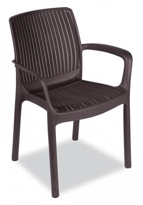 Paradise - Židle (whiskey hnědá)