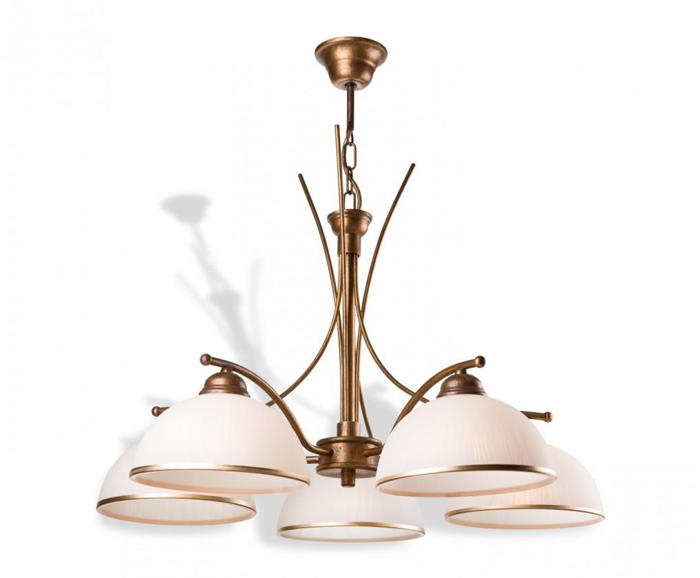 Patrycja - Stropní osvětlení, 60 cm (hnědá)