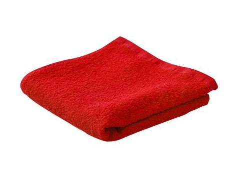 Payo - ručník, 40x70 cm (tmavě červený)