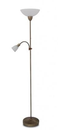 Pearl - Lampa, E27 (bronzová/alabastrové sklo)