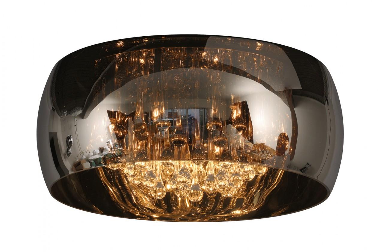 Pearl - stropní osvětlení, 40W, 6xG9, 25 cm (černá)