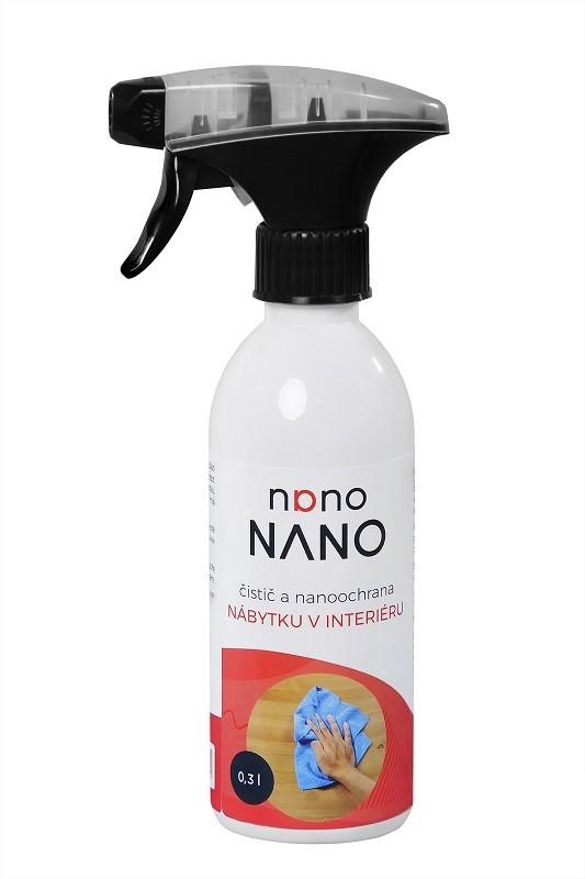 Péče o nábytek Nano - čistič a nano ochrana nábytku (300 ml)