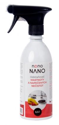 Péče o nábytek Nano - odstraňovač mastnoty (500 ml)