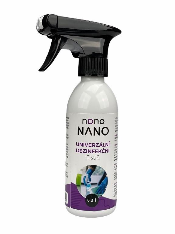 Péče o nábytek Nano - univerzální dezinfekční čistič (300 ml)