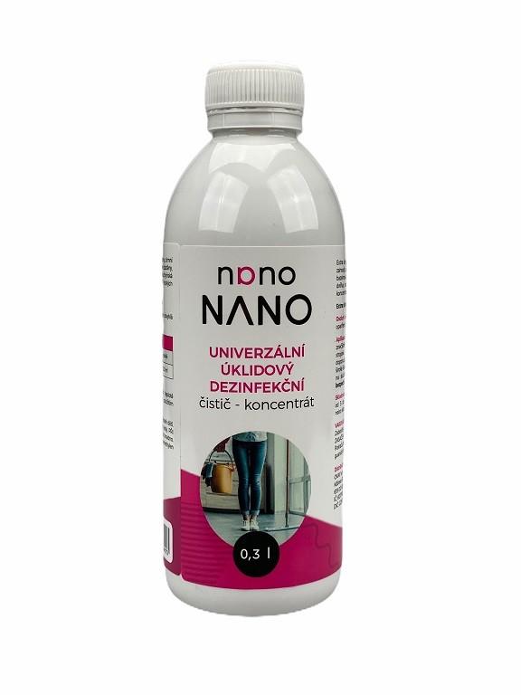 Péče o nábytek Nano - univerzální úklidový dezinfekční čistič (koncent. 300 ml)
