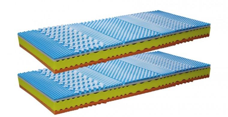 Pěnové Jena Soft sleep - Matrace, zvýhodněné 2ks balení (2x 90x200x24 )