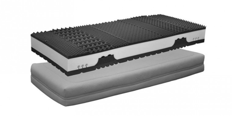 Pěnové Matrace Gala Visco 2000 (80x200x25 cm)