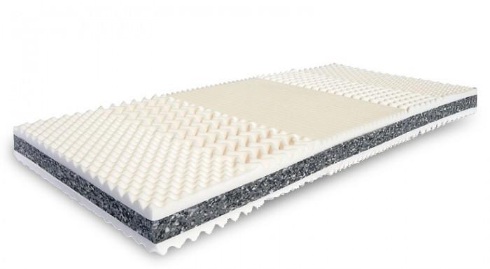 Pěnové Matrace Prima oboustranná, masážní profil - 90x200