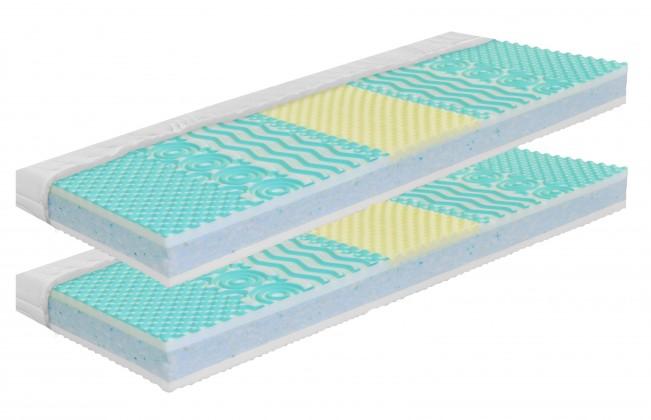 Pěnové Nefrit - Matrace, zvýhodněné 2ks balení (2x 90x200x17)