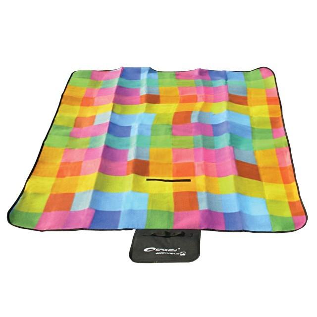 Picnic colour - Pikniková deka (žlutá, červená, modrá, zelená)