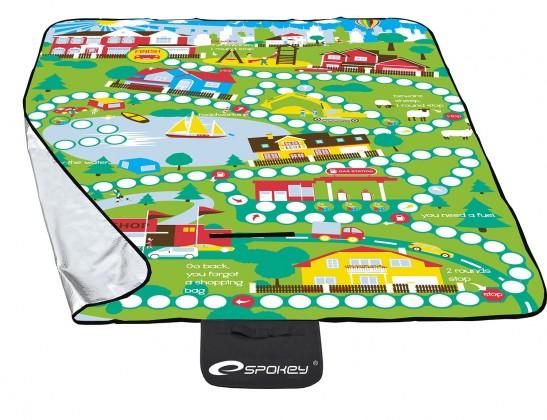 Picnic playboard - Pikniková deka 130x170 (zelená, žlutá)