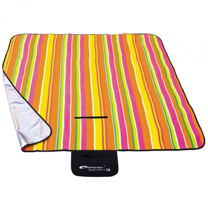 Picnic strips - Pikniková deka (žlutá, oranžová, růžová, zelená)