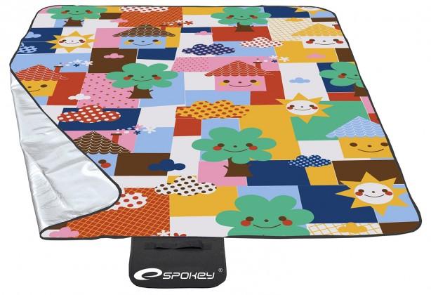 Picnic toddler - Pikniková deka 130x170 (žlutá, růžová, modrá)