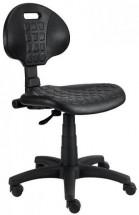 Piera - Dílenská židle (kloub, černá)