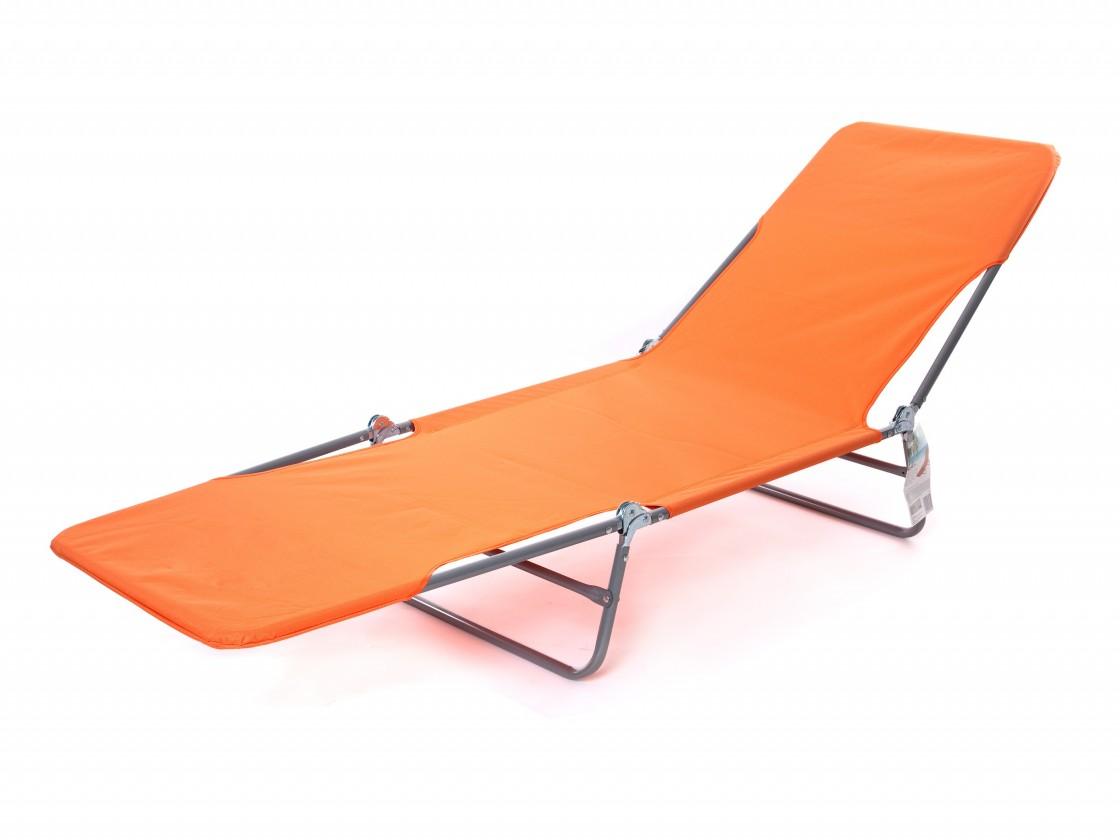 Plážové lehátko II (oranžové)