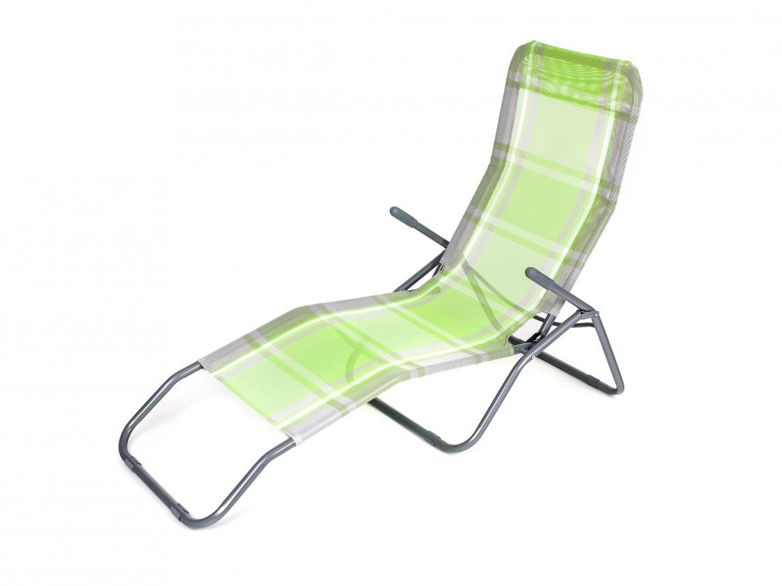 Plážové lehátko (zelená kostka)