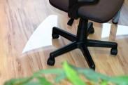 Podložka pod židli 125x100 (čirá)