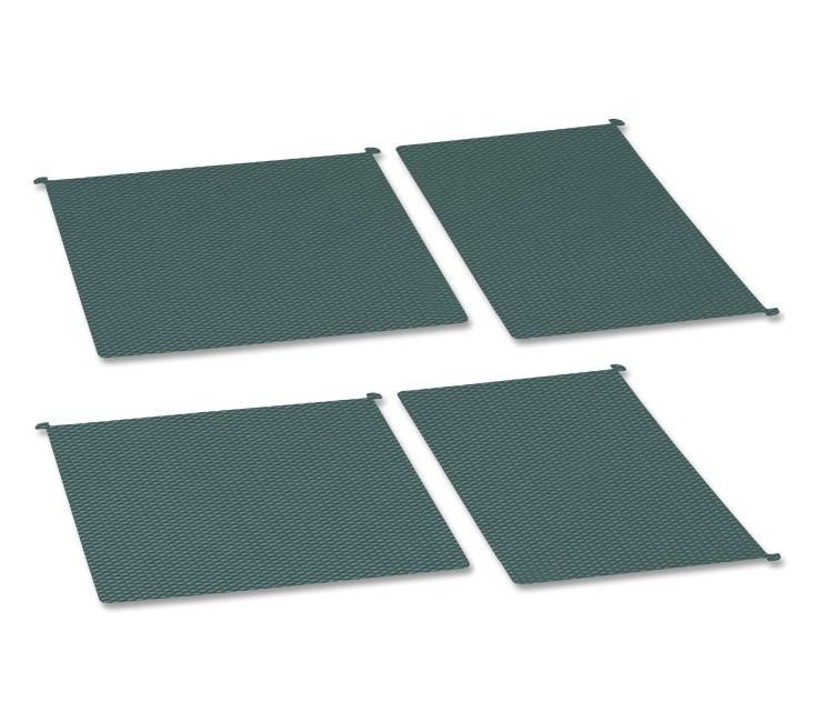 Podložka standard pro 450mm, set 4ks (šedá)