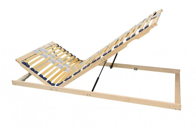 Polohovací Rošt Double Expert Pneu polohovací, přední výklop, 90x200 cm