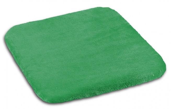 Polstr Korall micro - 40x40cm (zelená)
