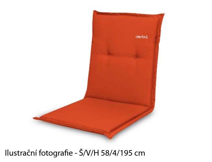 Polstr Look 831 - Polstr, lehátko (oranžová)