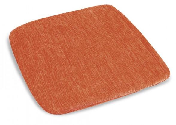 Polstr Žaneta - Sedák, 40x40cm (oranžový)