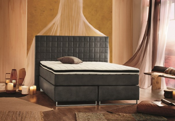 Postel Boxspring Chelsea - Boxspring 200x180, matrace, topper (50315-700)