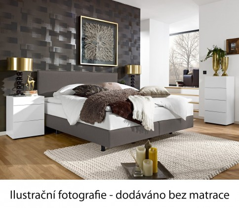 Postel Boxspring Even 200x140 (alaska A116)