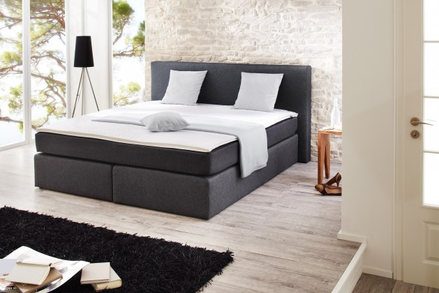 Postel Boxspring Postel Boxspring Hariet - 180x200, matrace, topper (50246-700)