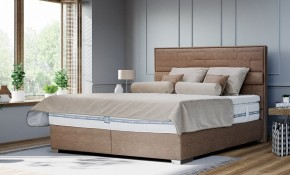 Postel Boxspring William 200x200 cm, vč. matrace, topperu