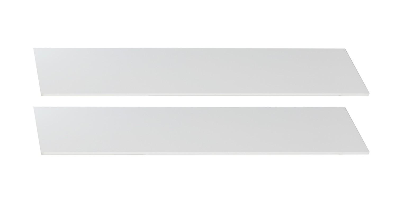 Postýlky a příslušenství Bibi - Bočnice k dětské postýlce (alpská bílá, oranžová)