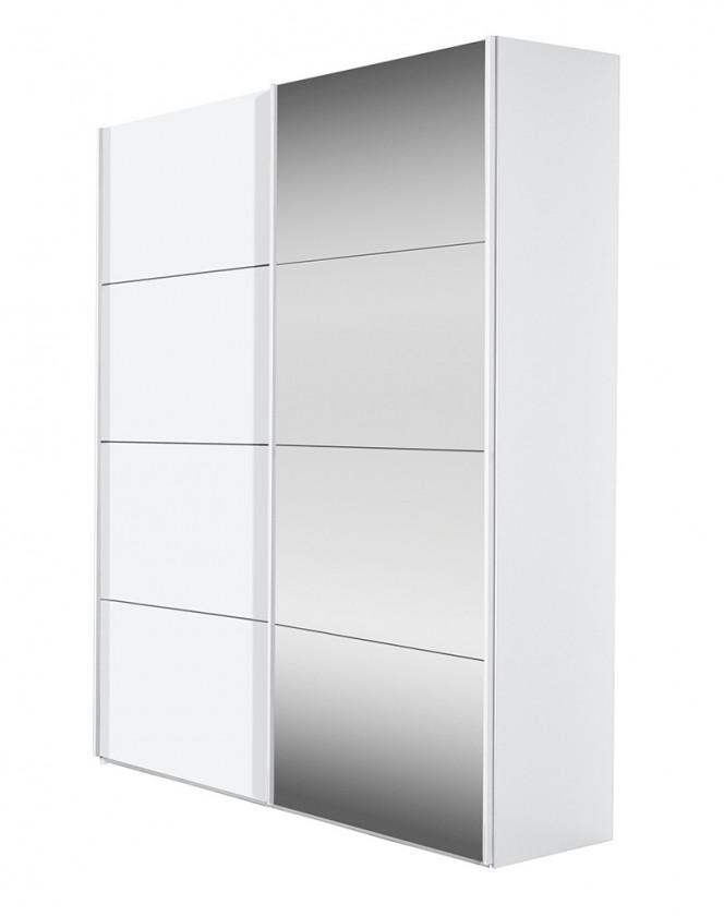 Posuvná Flavour 7093157 (bílá/křišťálové zrcadlo)