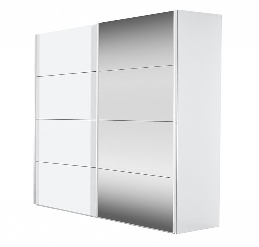 Posuvná Flavour 7093207 (bílá/křišťálové zrcadlo)