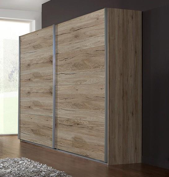 Posuvná Madrid - Šatní skříň, 2x posuvné dveře (dub san remo)