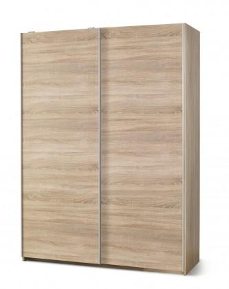 Posuvná šatní skříň lima - s posuvnými dveřmi (dub sonoma)