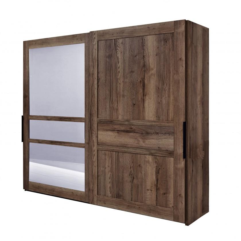 Posuvná Tender - 577459 (divoký dub antický/feelwood/kouřové zrcadlo)