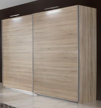 Posuvná Vicenza - Šatní skříň 5, 2x posuvné dveře (dub)