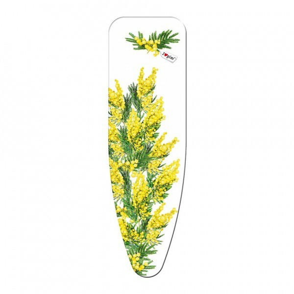 Potah na žehlící prkno, 110x33 cm (motiv Mimosa)