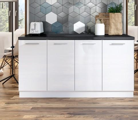 Potravinové skříně a ostrůvky Kuchyňská protilinka Emilia 160 cm (bílá)