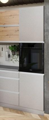 Potravinové skříně a ostrůvky Vysoká skříňka na vestavnou troubu ke kuchyni Metalica