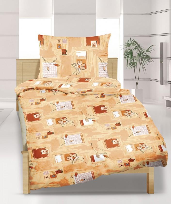 Povlečení bavlna 90/358, 140x220, 70x90 (medový sen)